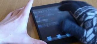 Touch Screen Gloves for Phones and Tablets