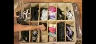 How to organize your shoes effective