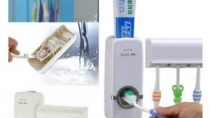 ToothPaste Dispenser & Wearable Towel Combo